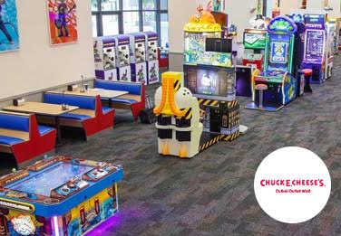Be Unique Client - Chuck E. Cheese's