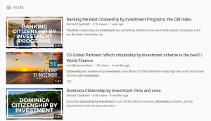 Video Marketing for Citizenship By Investment