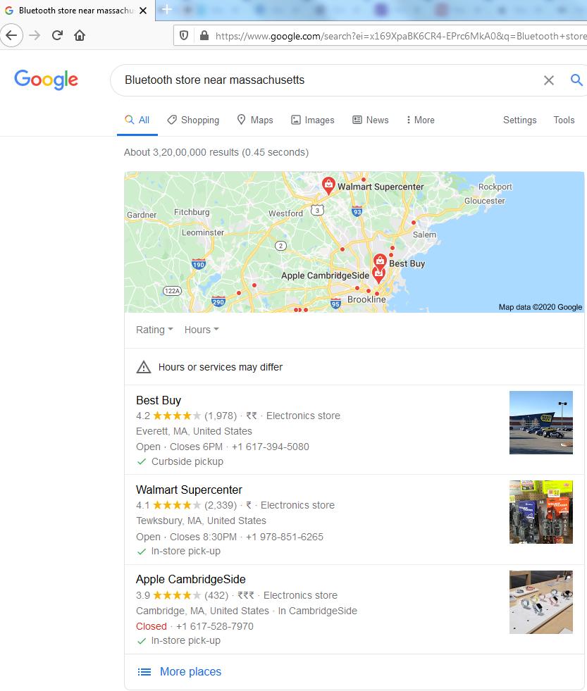 Google My Business Profiles