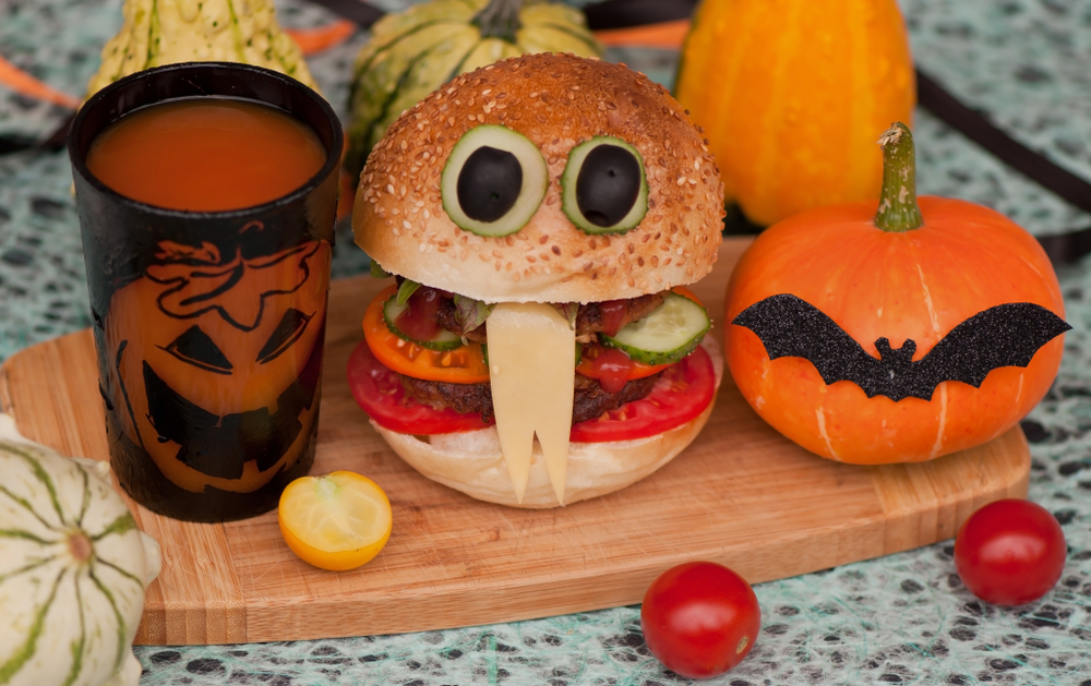 Halloween Themed Food And Beverages